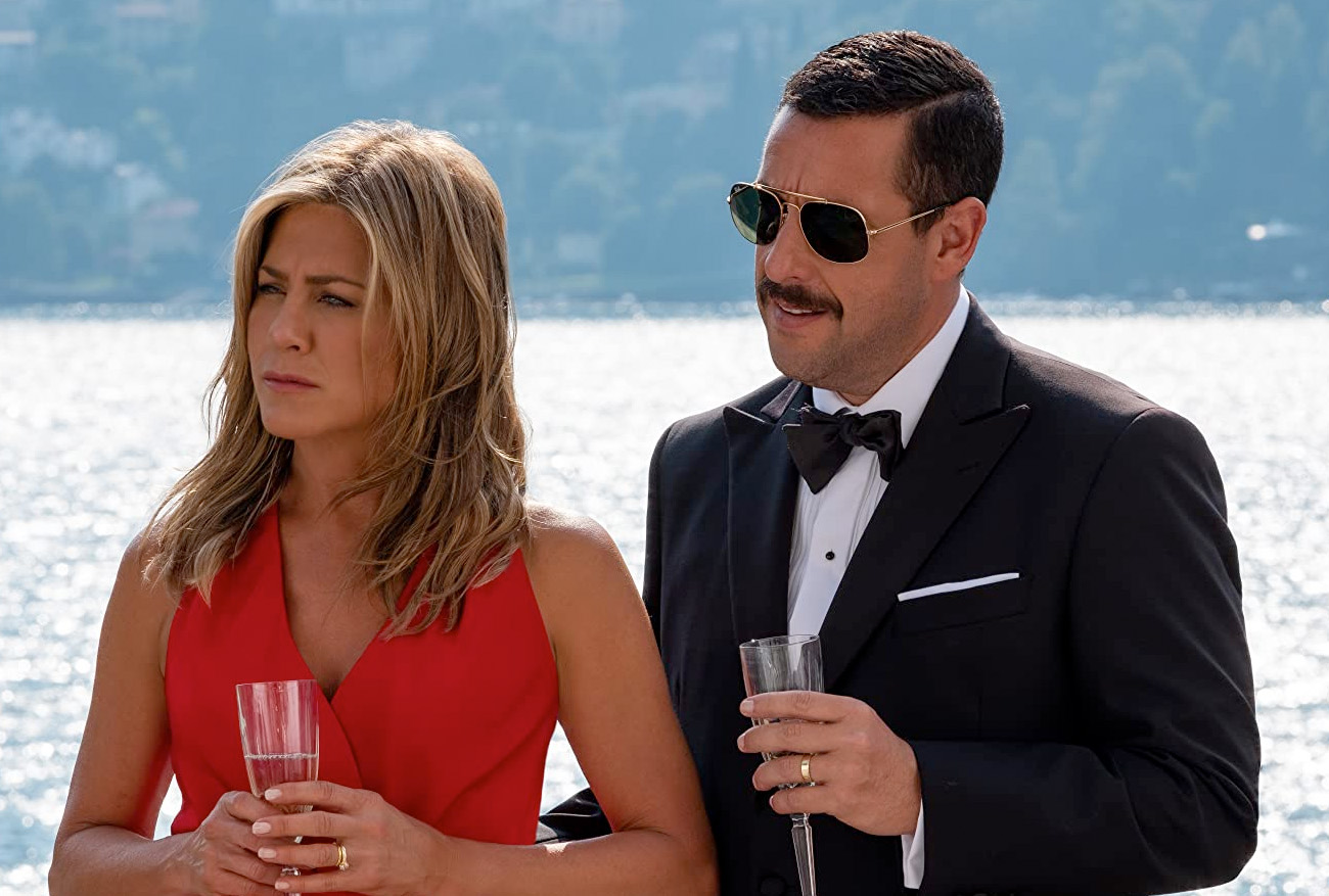 Jennifer Aniston og Adam Sandler (Netflix)