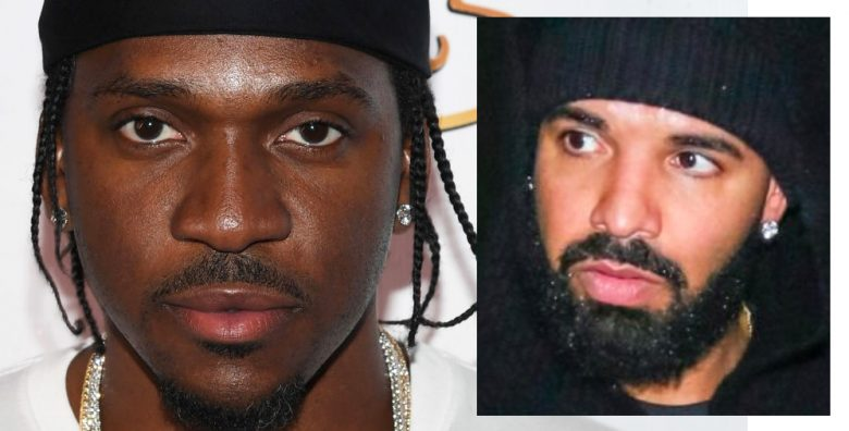 Pusha T vs. Drake igjen (Ethan Miller/Getty, TM/Bauer-Griffin/GC)