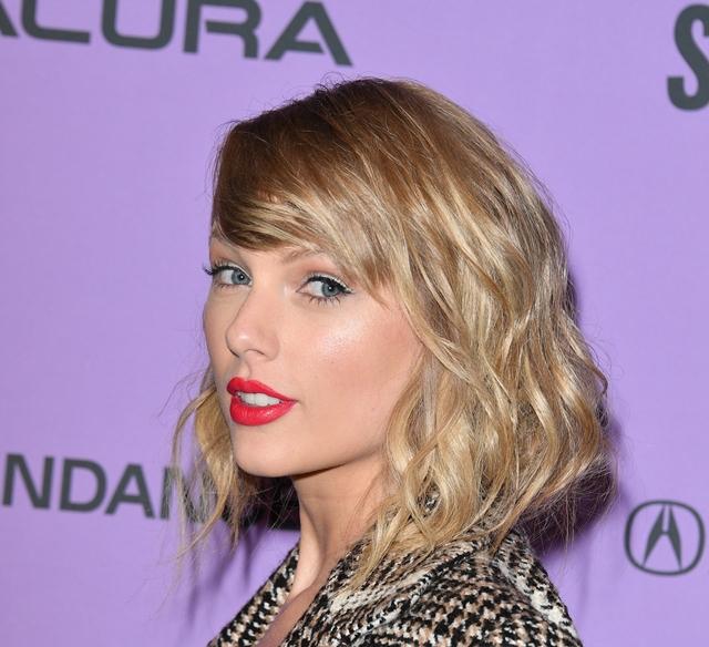 Taylor Swift på premieren av Miss Americana på Sundance Film Festival i januar 2020 (George Pimentel/Getty)