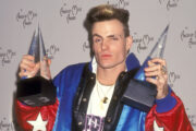 Vanilla Ice på American Music Awards i Shrine Auditorium i Los Angeles i 1991 (Ron Galella, Ltd/Ron Galella Collection/Getty)