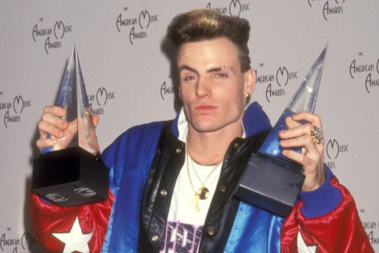 Vanilla Ice på American Music Awards i Shrine Auditorium i Los Angeles i 1991 (Ron Galella, Ltd/Ron Galella Collection/Getty)