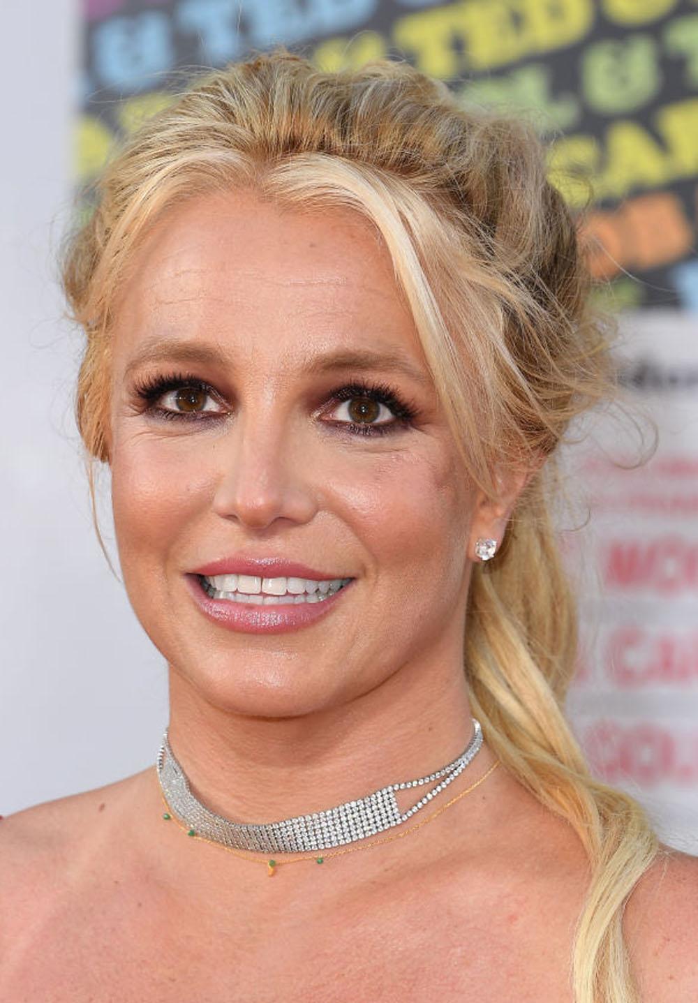Britney Spears på premieren til Quentin Tarantino-filmen Once Upon A Time In Hollywood i juli 2019 - passende nok i Hollywood (Steve Granitz/WireImage)