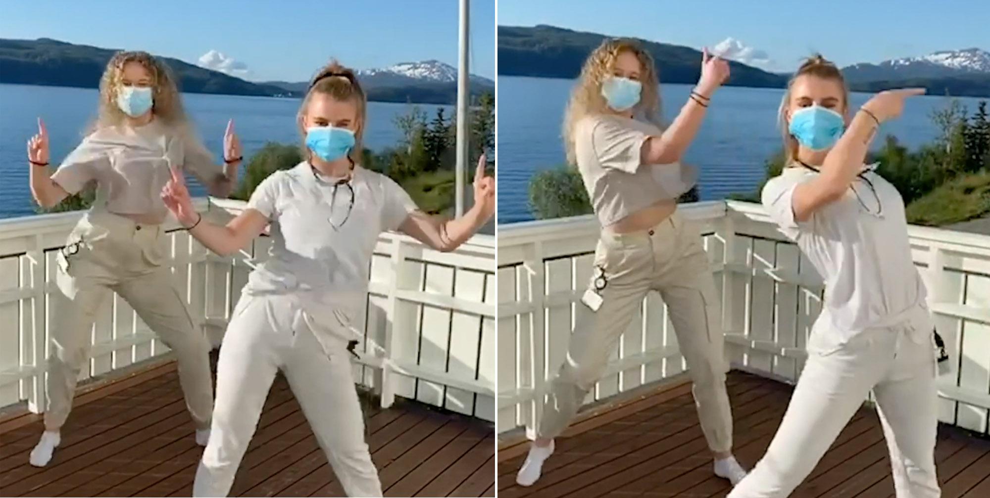 El Papi med video til Sykepleierinnen - Sykehuset 2020 (NRK, Universal)