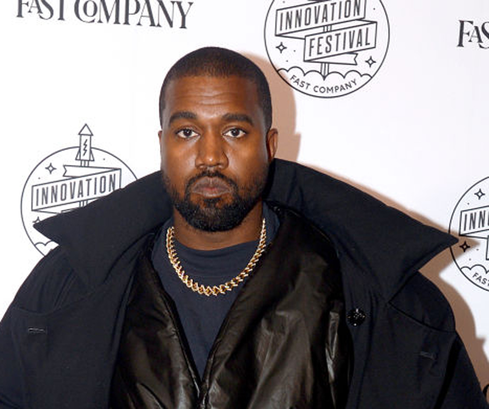 Kanye West på Fast Company Innovation Festival i New York i november 2019 (Brad Barket/Getty)