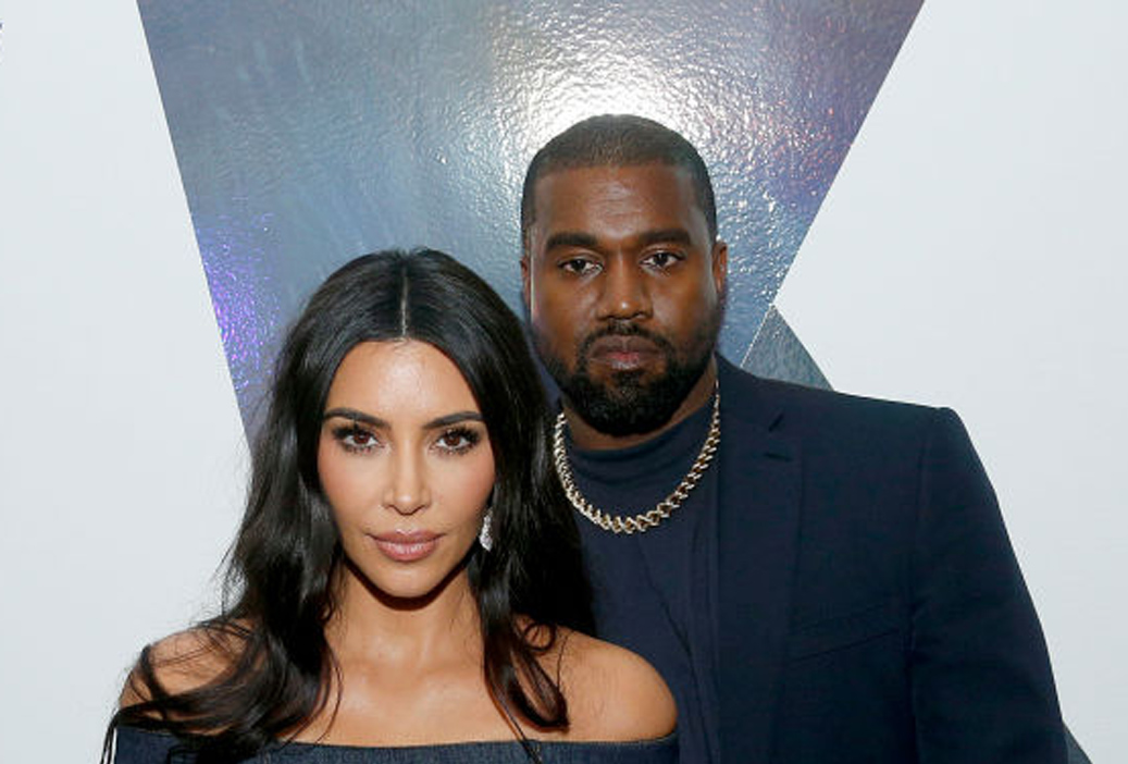 Kim Kardashian West og Kanye West på WSJ Magazine Innovator Awards i New York november 2019 (Lars Niki/Getty/WSJ)