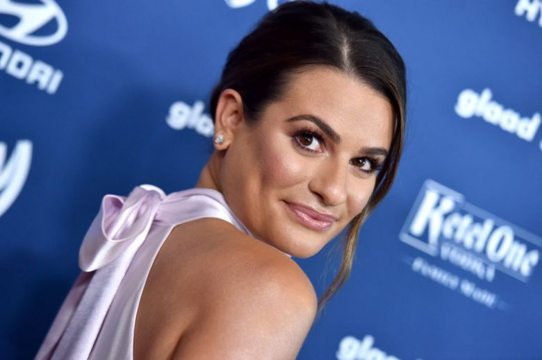 Lea Michele på GLAAD Media Awards i Beverly Hills i mars 2019 (Axelle/Bauer-Griffin/FilmMagic)