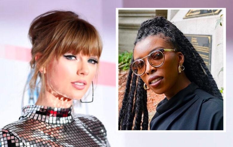 Amira Rasool vs. Taylor Swift (Instagram/amirarasool, Emma McIntyre/Getty)