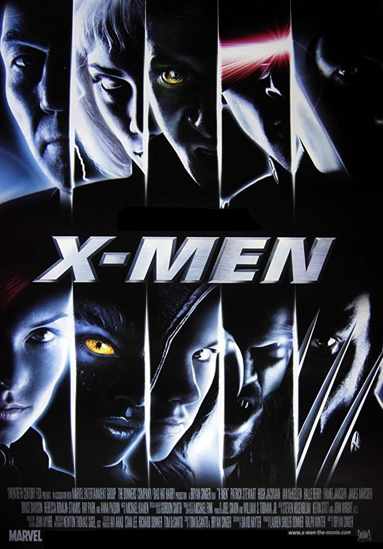 X-Men hadde premiere 14. juli 2000 (Marvel/Fox)