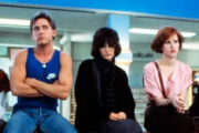 Judd Nelson, Emilio Estevez, Ally Sheedy, Molly Ringwald, Anthony Michael Hall i The Breakfast Club (Universal Pictures)