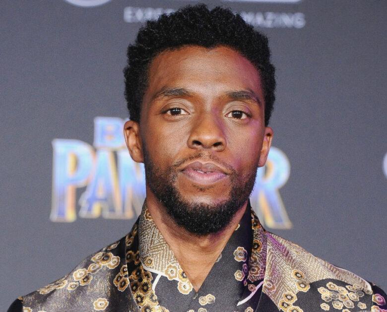 Chadwick Boseman på premieren til Black Panther i Los Angeles i 2018 (Jon Kopaloff/FilmMagic)