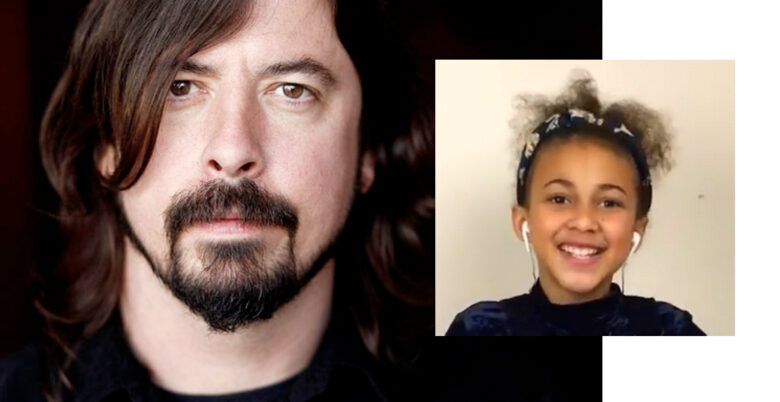 Dave Grohl fra Foo Fighters er fan av Nandi Bushell (RCA/Sony, Instagram/nandi_bushell)