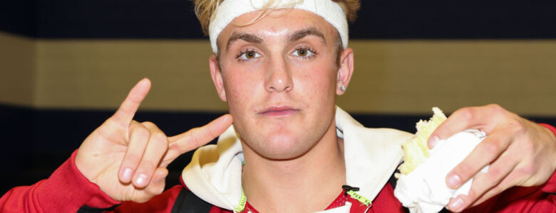 Jake Paul på event på Sierra Canyon High School i Chatsworth i California i 2019 (Paul Archuleta/Getty)