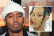 Nas vs. Doja Cat (Mike Coppola/FilmMagic, Instagram/dojacat)