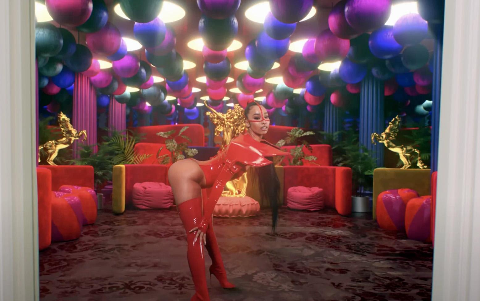 Rubi Rose i videoen til WAP med Cardi B og Megan Thee Stallion (Atlantic/Warner)