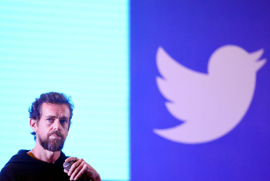Twitter-direktør og -grunnlegger Jack Dorsey (Amal KS/Hindustan Times/Getty)