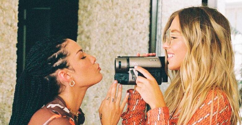 Halsey og Sydney Sweeney er veldig glad i hverandre (Fifty-Fifty Films)