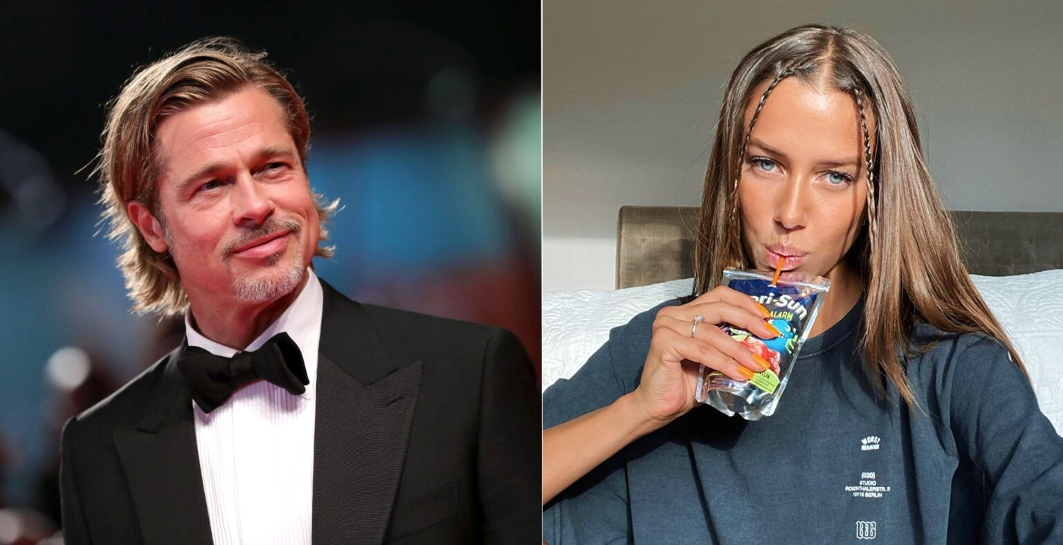 Brad Pitts Nye Boo Nicole Poturalski 27 Er Gift Med Roland Mary 68 730 No