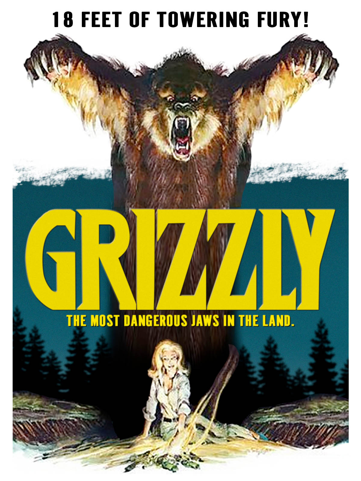 Grizzly fra 1976 (Film Ventures/Columbia)