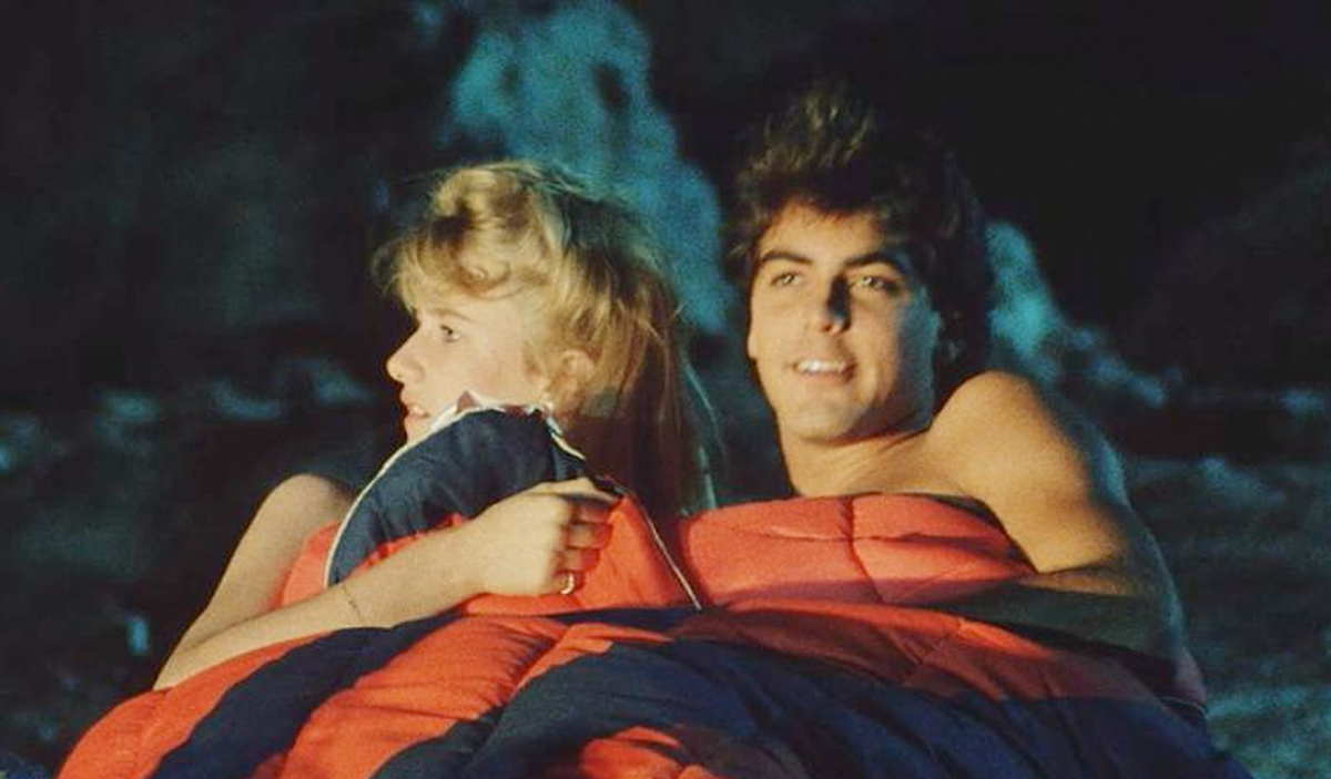 Laura Dern og George Clooney koser seg i Grizzly II - før det trolig får galt (GBGB)