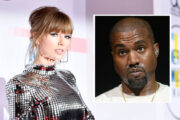 Taylor Swift og Kanye West (Emma McIntyre/Getty, Scott Dudelson/FilmMagic)