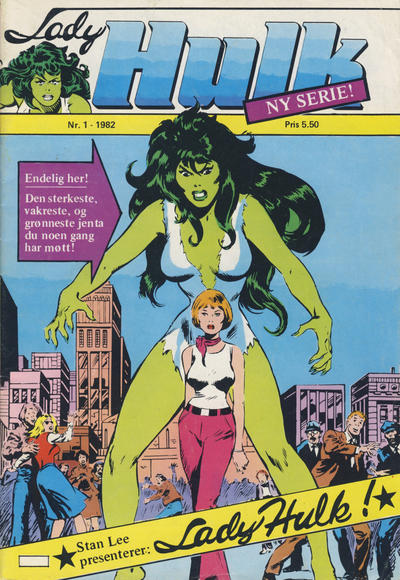 Lady Hulk i Norge (Atlantic Forlag/Marvel Comics)