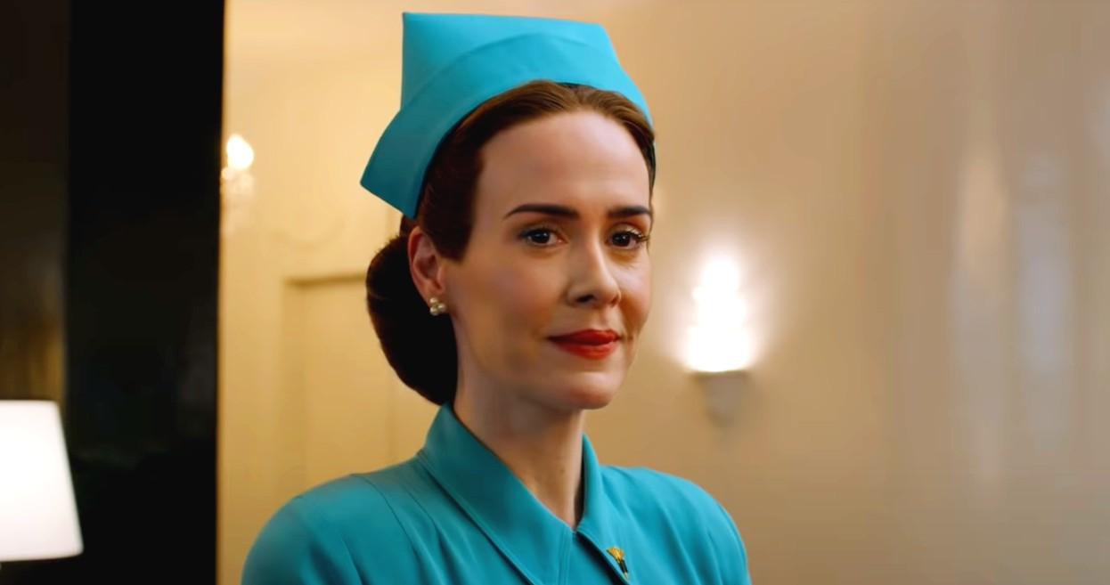 Sarah Paulson som sykesøster Mildred Ratched