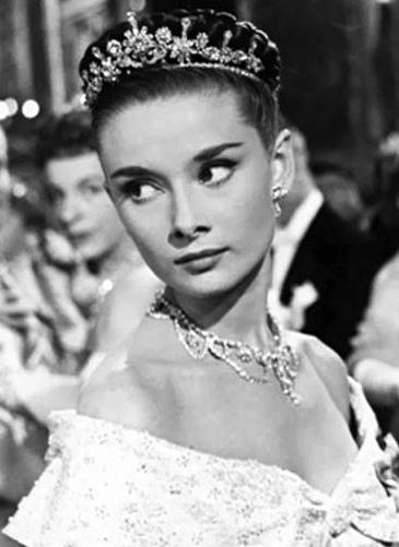 Audrey Hepburn i Roman Holiday fra 1953 (Paramount)