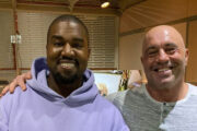 Joe Rogan og Kanye West i podcast-episode 1554 (The Joe Rogan Experience)