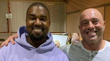Joe Rogan og Kanye West i podcast-episode 1554 (The Joe Rogan Experience)