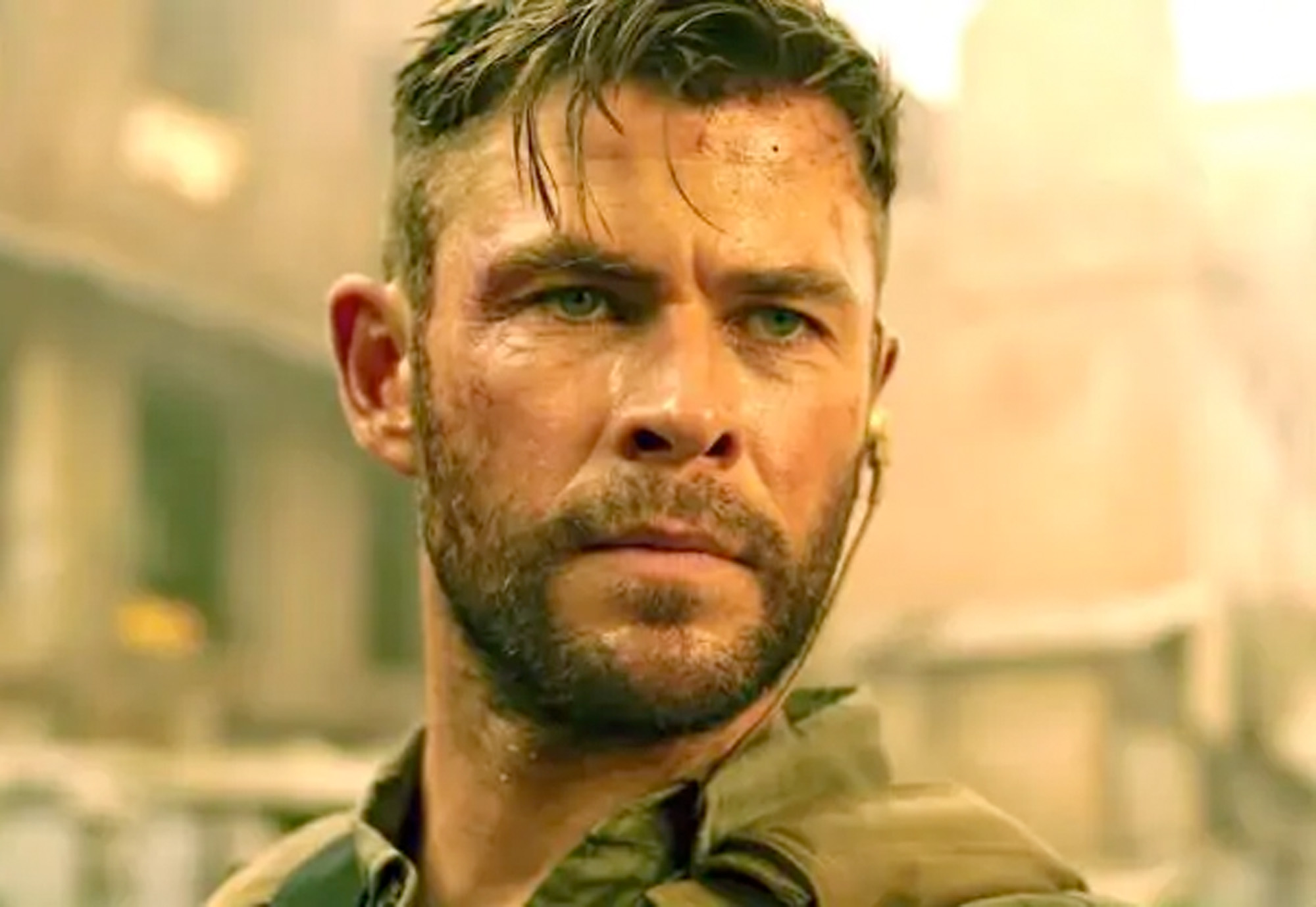Chris Hemsworth i Extraction fra 2020 (Netflix)