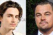 Timothee Chalamet og Leonardo DiCaprio (Mike Coppola/FilmMagic/Getty, Frazer Harrison/Getty)