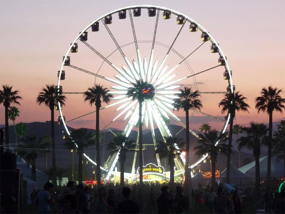 Coachella i Indio i California (Matt Winkelmeyer/Getty)