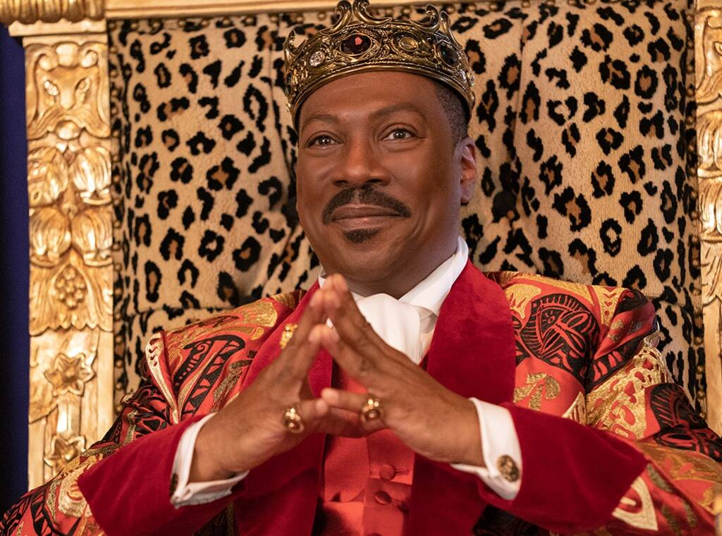 Eddie Murphy som King Akeem (Prime Video)