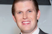 Eric Trump på besøk hos Fox News i New York (Astrid Stawiarz/Getty)