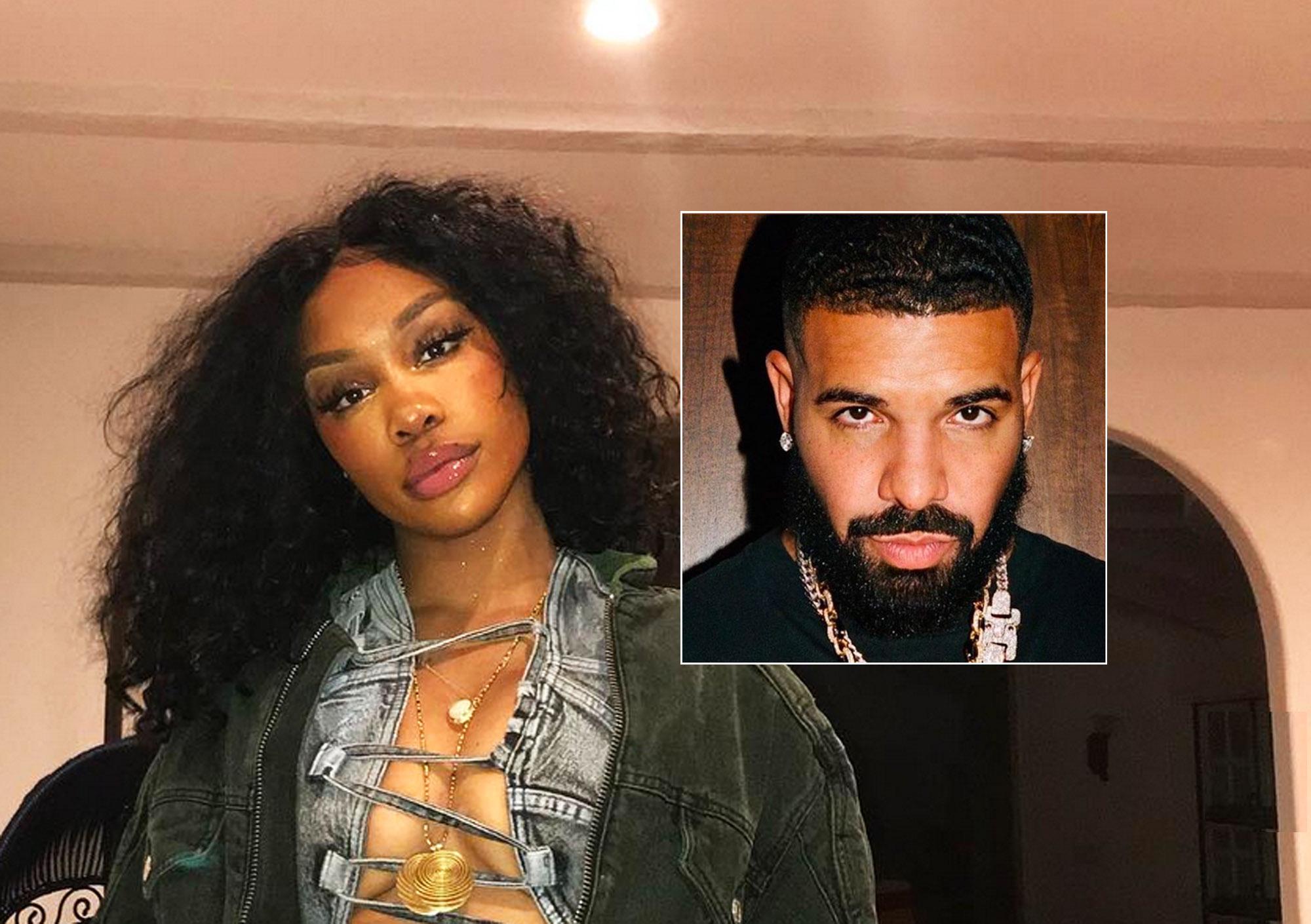 SZA og Drake holdt det lovlig (Instagram/SZA, Instagram/champagnepapi)