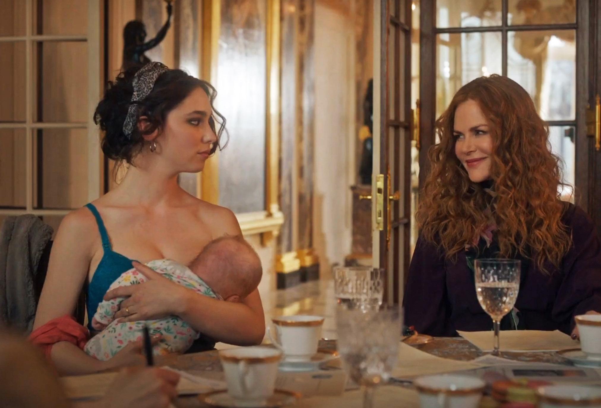 Matilda De Angelis og Nicole Kidman i The Undoing (HBO)