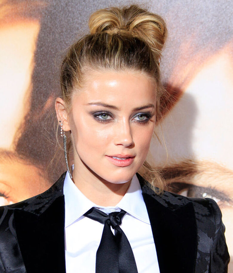Amber Heard på premieren til The Danish Girl i Los Angeles i november 2015 (John Rasimus/Barcroft Media/Getty)