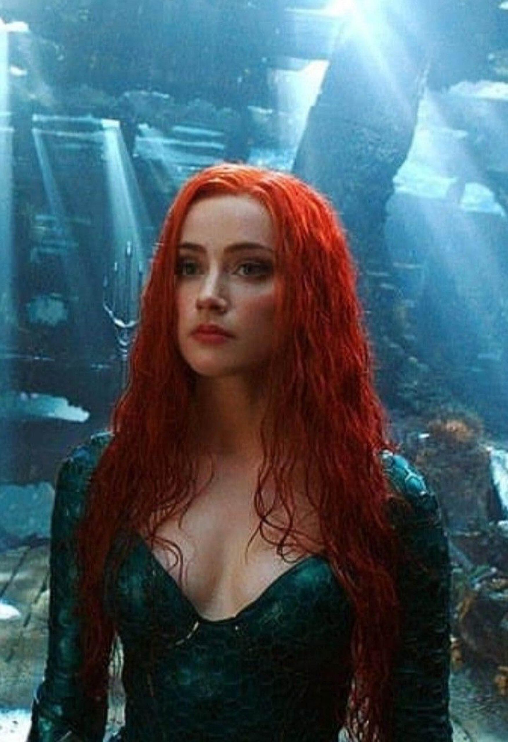 Amber Heard som Mera i Aquaman (DC/Warner Bros.)