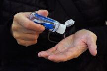 Håndsprit som beskyttelse mot COVID-19 (Cindy Ord/Getty)