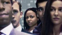 NSFW-serie fra arbeidsplassen: Industry med Myha'la Herrold som Harper Stern (HBO Nordic)