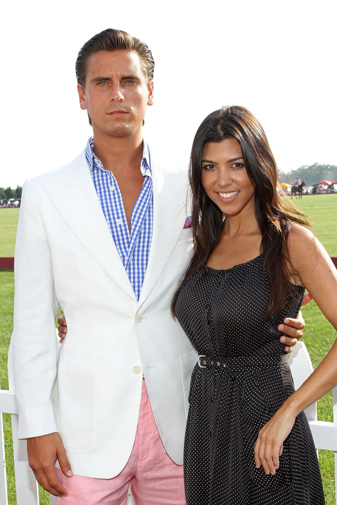Scott Disick og Kourtney Kardashian på poloturnering i Bridgehampton, New York i 2010 (Jerritt Clark/FilmMagic)