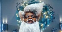 Lil Nas X som julenissen i HOLIDAY (Columbia/Sony)