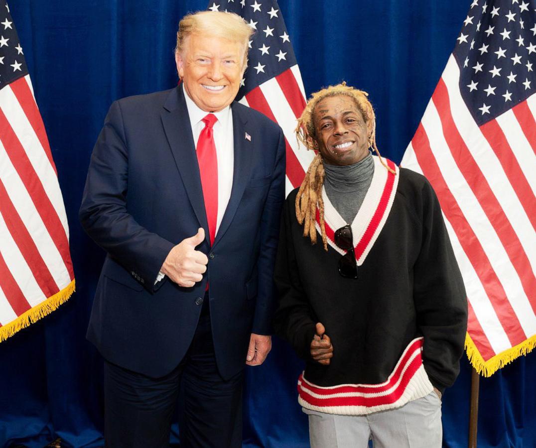 Donald og Dwayne (The White House)