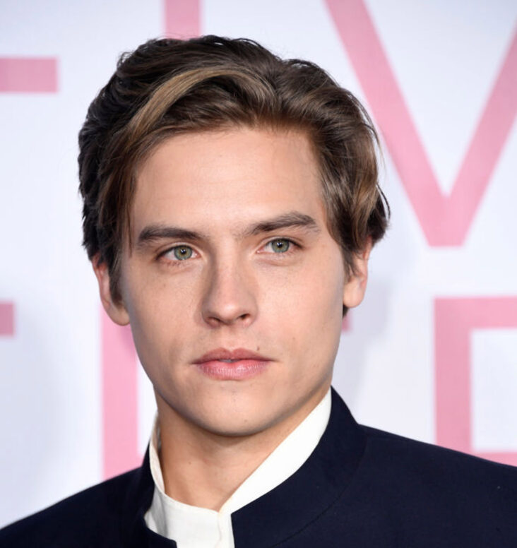 Dylan Sprouse på premieren til Five Feet Apart i Los Angeles i 2019 (Frazer Harrison/Getty)
