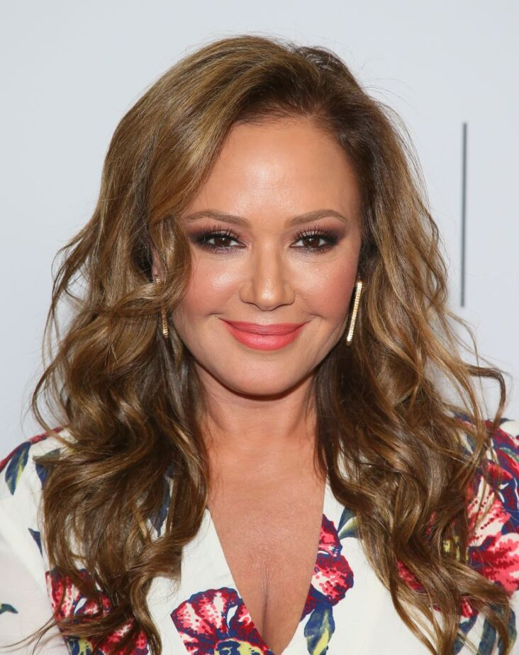 Leah Remini på Gracies Awards via The Alliance for Women in Media Foundation i Beverly Hills i 2019 (Jean Baptiste Lacroix/WireImage)