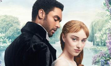 Regé-Jean Page og Phoebe Dynevor i Bridgerton (Netflix)