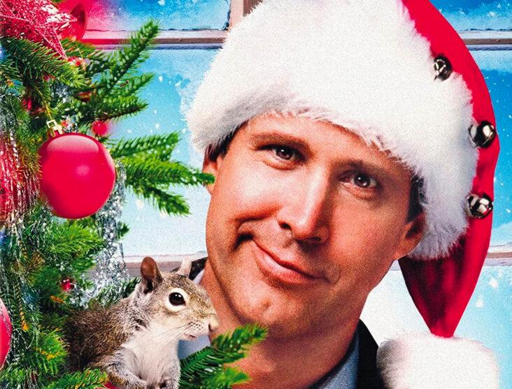 Chevy Chase i Hjelp, det er juleferie! alias Christmas Vacation (Warner Bros.)