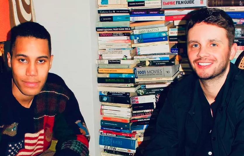 Industry-serieskapere Mickey Down og Konrad Kay (Instagram/mnadown)