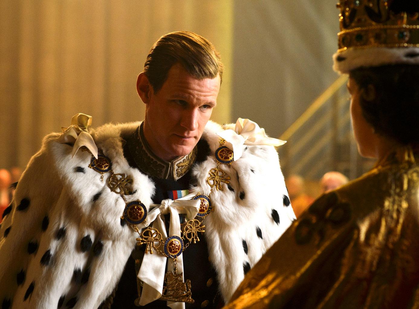 Matt Smith går fra Prince Philip i The Crown til Prince Daemon Targaryen i House of The Dragon (Netflix)