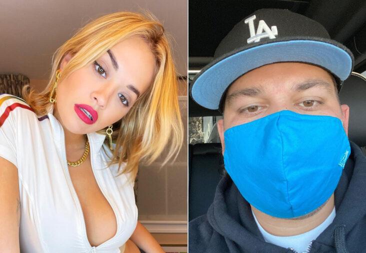 Rita Ora og Rob Kardashian (Instagram/ritaora, Instagram/robkardashian)